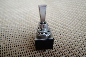 ON/ON/ON Mini Flat Shaft Toggle Switch 3 Position DP3T for Guitar Effects Pedal