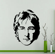 John Lennon Wall Decal The Beatles Music Vinyl Sticker Home Mural Poster 281su