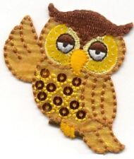 IRON ON PATCH OWL