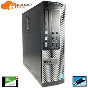 Dell Optiplex 7010 Desktop PC SFF Intel i5-3470 @3.20GHz 8GB, 120GB SSD Win 10