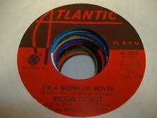 """Soul 45 WILSON PICKETT I'm a Midnight Mover on Atlantic 7"""""""