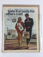 Pepsi-Cola Olympics 1968 Vintage Print Collectible Advertisement 10.25 x 13.25