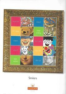 GB QE2 SMILERS SHEET 2001 SMILES LS5