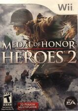 Medal Of Honor Heroes 2 Wii Great Condition Complete Fast Shipping