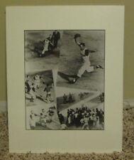 VINTAGE 1960's B&W PHOTO BILL MAZEROSKI HOME RUN WORLD SERIES PITTSBURGH PIRATES