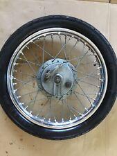 Royal Enfield Meteor Bullet 4844 Front Wheel & Tyre  Restored
