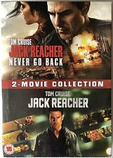 JACK REACHER & JACK REACHER NEVER GO BACK: 2-MOVIE COLLECTION DVD 2016 NEW
