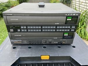 Rare Pioneer CLD-V303T Karaoke Dual Tray Laserdisc Player Tested Working Remote