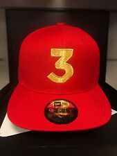 Chance The Rapper 3 Hat New Era SnapBack Adjustable Cap Dad Hat RED