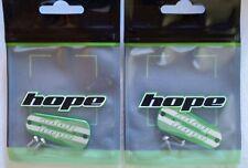Hope Tech 3 Brake Lever Lid Rare Green Pair