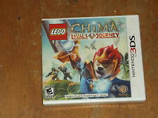 NINTENDO 3DS LEGENDS OF CHIMA LAVAL'S JOURNEY VIDEO GAME NEW IN PACKAGE