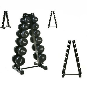 6 Tiers Vertical Dumbbells Hex Weight Stand Gym/Home Storage Rack/Tree/Holder