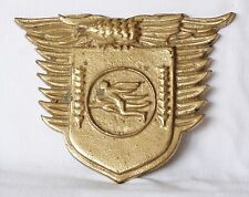Vintage Antique Bronze Badge Medal? ICARUS Army Aviation Airforce Greek Ikaron