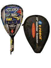 """E-Force Shock 22"""" Longstring Technology Power Racquetball Racquet - Brand New"""
