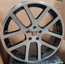"22"" SRT10 Viper Style Rims Black Machined Wheels Fit Dodge RAM 1500 Durango Sale"