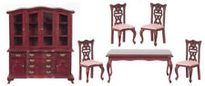 Dollhouse Miniature Dining Room 6 Piece Set