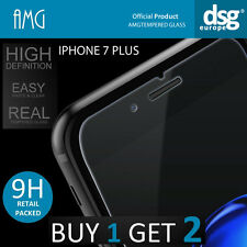 AMG 9H HIGH QUALITY REAL TEMPERED GLASS SCREEN PROTECTOR FOR iPHONE 7 PLUS