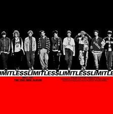 NCT 127 [NCT#127 LIMITLESS] 2nd Mini Album CD+POSTER+10p Photo+Book+Sticker+Card