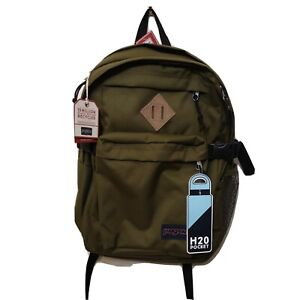 """JANSPORT Main Campus BACKPACK army Green 15"""" Laptop"""