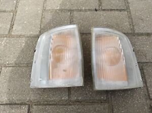 OPEL FRONTERA A FRONT INDICATOR TURN SIGNALS MARKER BOTH SIDES