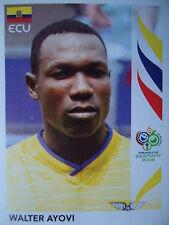 Panini 82 Walter Ayovi Ecuador FIFA WM 2006 Germany