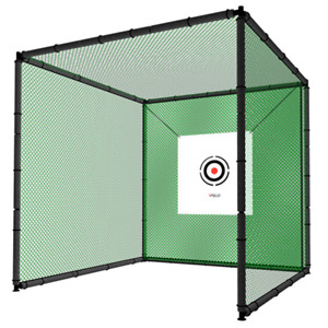 Hillman PGM 3m Heavy Duty Golf Practice Cage & Net with Target