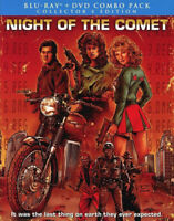 Night of the Comet (2 Disc, Blu-ray + DVD, Collectors Edition) BLU-RAY NEW