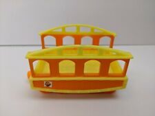 2010 Jim Henson Learning Curve Dinosaur Train Replacement Yellow/Ornge Train Car