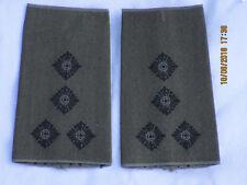 Bundeswehr Shoulder Marks: Staff Captain, Army, Black/Olive