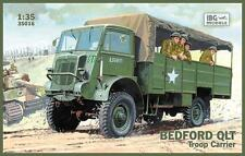 BEDFORD QLT TROOP CARRIER - NORMANDY 1944 (BRITISH & POLISH MKGS) 1/35 IBG