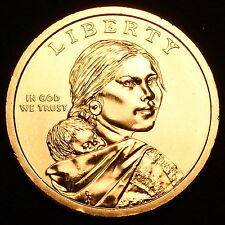 2009 D Sacagawea Native American Dollar ~ Pos B  ~ Choice BU from U.S. Mint Roll