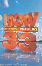 V/A - Now That's What I Call Music! Volume 33 (UK 40 Tk Double Cassette Album)