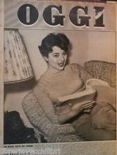 OGGI 12 novembre 1953 Giovanna Ralli Lisa Graf Angelo Curisetti Ava Gardner USA