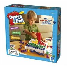 Design & Drill Activity Center, diseñar & tornillos-set Educational (82114 nuevo