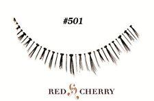 RED CHERRY FALSE EYELASHES 100% HUMAN HAIR STYLE #501 LOWER/BOTTOM LASHES