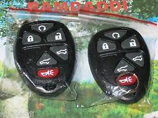 PAIR 15913427 Remote Transmitter Key fob OEM BOARD Yukon Suburban Tahoe #1 #2