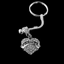 Farmer key chain huge sale Farmer jewelry Farmer gift Crystal Heart Farmer