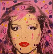 Kino Mistral , Hommage a Andy Warhol, Technique mixte sur panneau , Debbie Harry