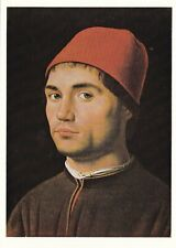 Antonella da Massina Portrait of a Man Postcard unused VGC