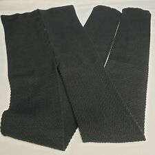 New 3 Pair Thick Footed Pantyhose Tights Stocking Herringbone Warm Winter Black
