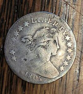 1805 Draped Bust Half Dime Rare
