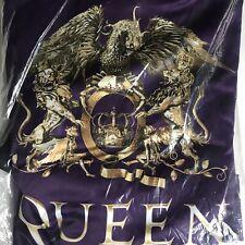 Queen + Adam Lambert Robe 2019 Rhapsody Tour Vip Purple Boxer's Robe Sealed
