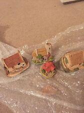Lilliput Lane Cottages - 4 Mini Cottages - Mint Condition - No Box