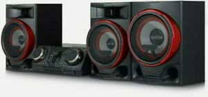 LG CL88 2900 Watt Bluetooth Hi-Fi System Black very good condition