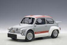 AutoArt Fiat Abarth TCR 1000 - Matt Grey - Red Stripes 1970 1/18