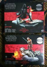 Star Wars The Black Series Centerpiece Darth Vader And Luke Skywalker. Hasbro