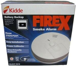 KIDDE i4618 Firex Hardwired Smoke Alarm Newly Manufactured!