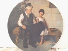 """The Innkeepers Daughter"" Norman Rockwell Collector Plate, Free Shipping"