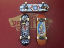 World Industries Tech Deck Lot of 3 with Display Rack
