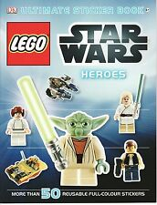 CHILDREN'S DK ULTIMATE REUSABLE STICKER BOOK: LEGO STAR WARS: HEROES